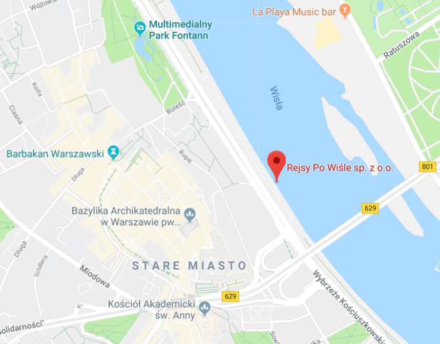 Przystań pod Starym Miastem - Main harbour at Old Town